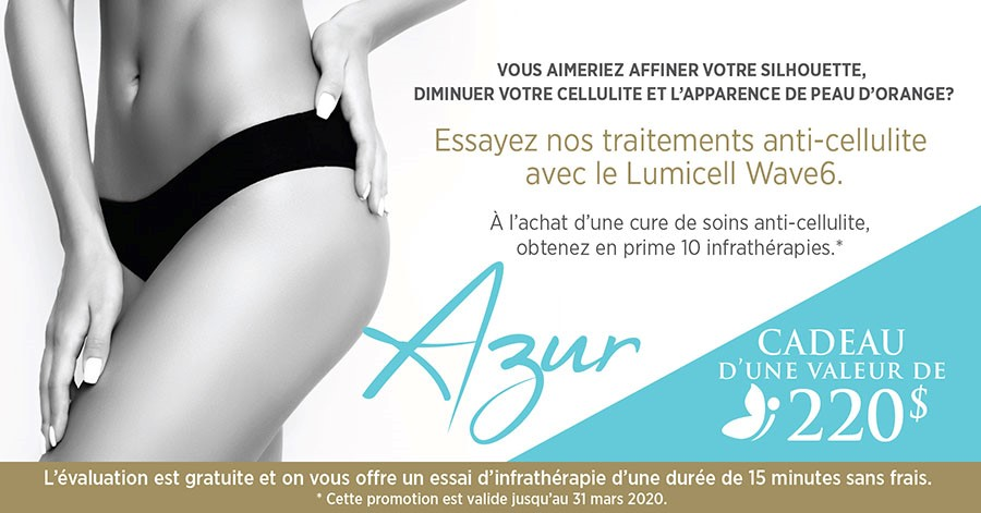 Prolongation promo Anti-cellulite